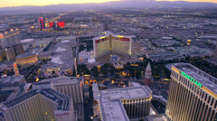 Aerial view of Las Vegas, Nevada. Stock Footage