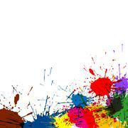 Splatter maali tausta Piirros