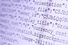 html codes - stock photo