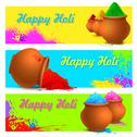 Stock Illustration of Colorful Happy Holi