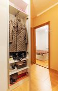 apartment rooms - stock photo