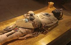 egyptian mummy - stock photo