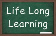 Stock Illustration of life long learning
