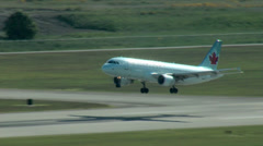 Embraer 190 Airplane Takeoff Stock Footage