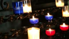 candle - stock footage