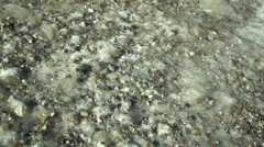 Ice formation at the Lake Michigan Shore 3 Stock Footage