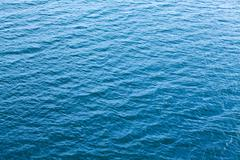 Surface of the river with waves Stock Photos