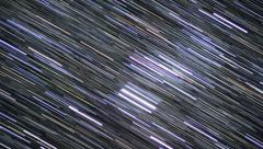 4K Startrails 10 Timelapse Astrophotography Stock Footage