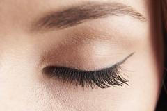 eye lid - stock photo