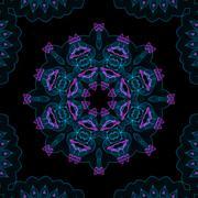 color digital fume pattern - stock illustration