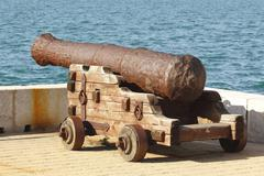 Old cannon Stock Photos