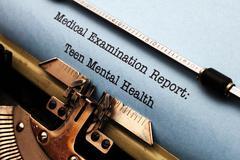 Teen mental health Stock Photos
