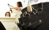 Stock Photo of professional equipment tools accessories hairdresser in hair beauty salon