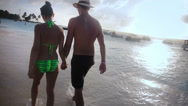 Stock Video Footage of Lovely couple on vacation