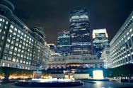Stock Photo of canary wharf