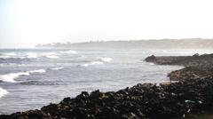 San Andres Island Coast Stock Footage
