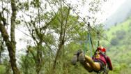 Stock Video Footage of Zipline HD