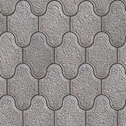 Stock Illustration of Grainy Paving Slabs. Seamless Tileable Texture.