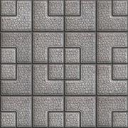 Grainy Paving Slabs. Seamless Tileable Texture. - stock illustration