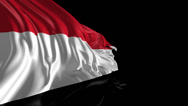 Stock Video Footage of Flag of Yemen