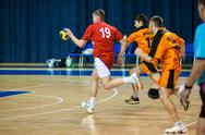 Stock Photo of international handball tournament in memory of the first governor of orenburg