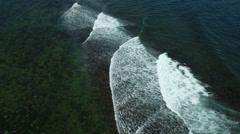 Flight over the Coast Stock Footage