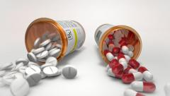 Medication - stock footage