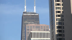 Chicago Hancock Building John Hancock Center Stock Footage