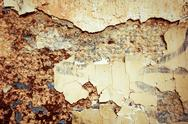 Stock Photo of brown grungy wall