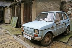 Rusted car Stock Photos