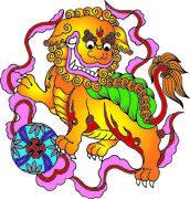 .chinese traditional auspicious designs Stock Photos