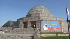 Adler Planetarium Chicago - stock footage
