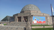 Stock Video Footage of Adler Planetarium Chicago