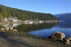 Deep Cove, British Columbia Stock Photos