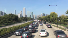 Chicago Traffic - stock footage