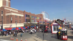 Navy Pier Chicago - stock footage