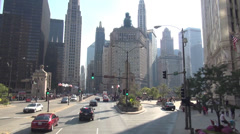 Chicago Streetview - stock footage