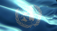 United Nations - stock footage