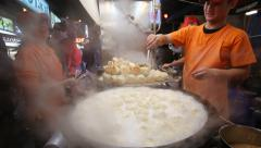 Chinese steamed buns Stock Footage