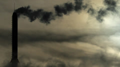 Smoke pipe Stock Footage