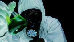 Virus Threat Biohazard Research - stock footage