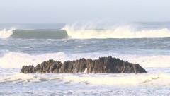 Ocean Surf Break Stock Footage