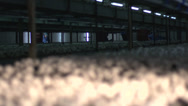 Stock Video Footage of focus pull of mushrooms in mushroom farm