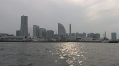 Hazy Day on Tokyo Bay - stock footage