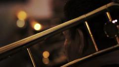 Barock trumpet - stock footage