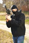 gunman - stock photo