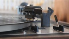 Record Player Stock Footage
