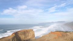 Beautiful Sandstone Coast Stock Footage