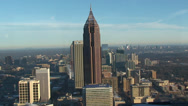 Stock Video Footage of Downtown Atlanta - Winter Morning