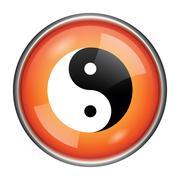 Stock Illustration of ying yang icon